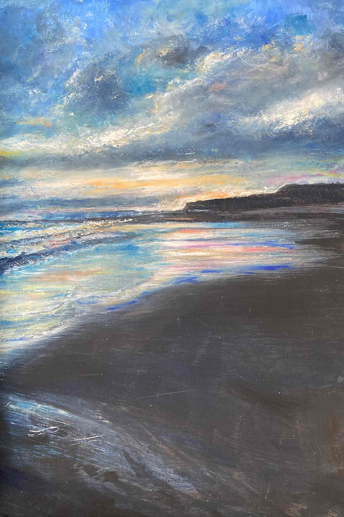 The Scottish Coast 1, Limited Edition Print by Laurel Moore