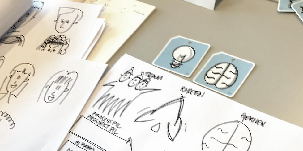 Overbygningskurs i visuell fasilitering