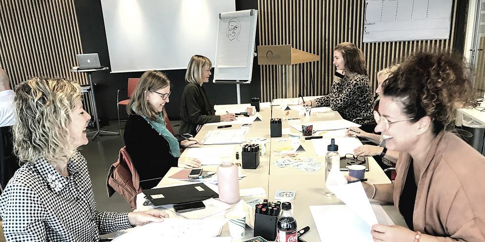 Kurs i visuell fasilitering Oslo FULLTEGNET