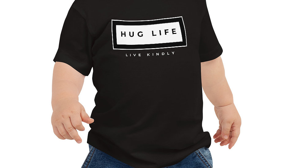 Hug Life Box Logo Baby Tee