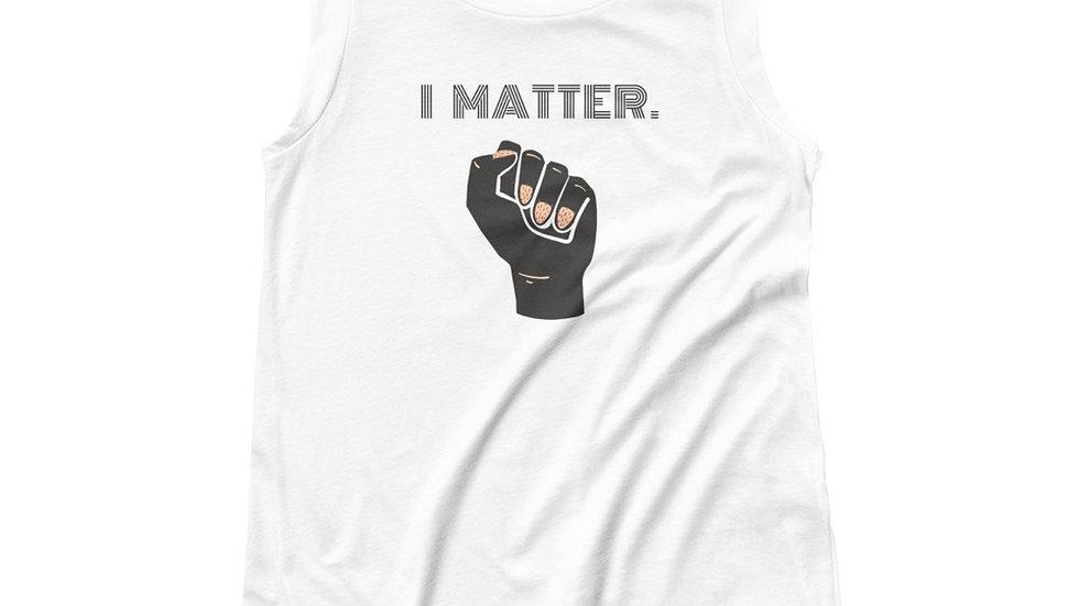 I Matter Cap Sleeve Tee