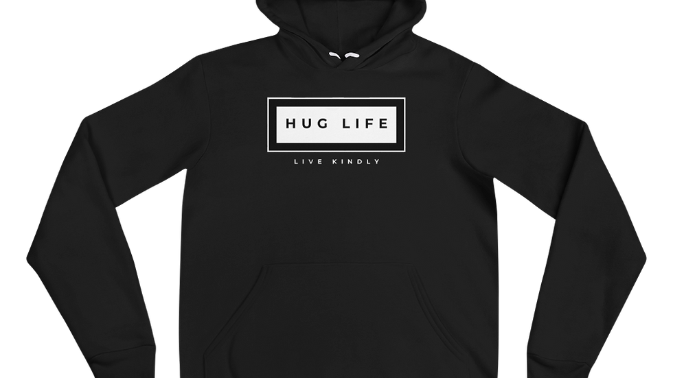 Hug Life Box Logo Hoodie