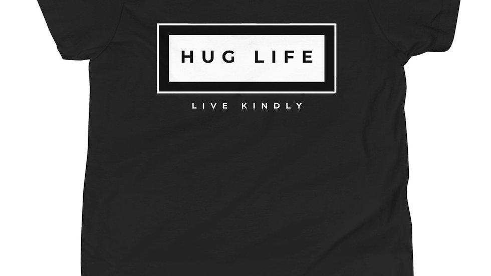 Hug Life Box Logo Youth Tee