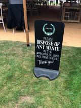 Waste Wobble Board