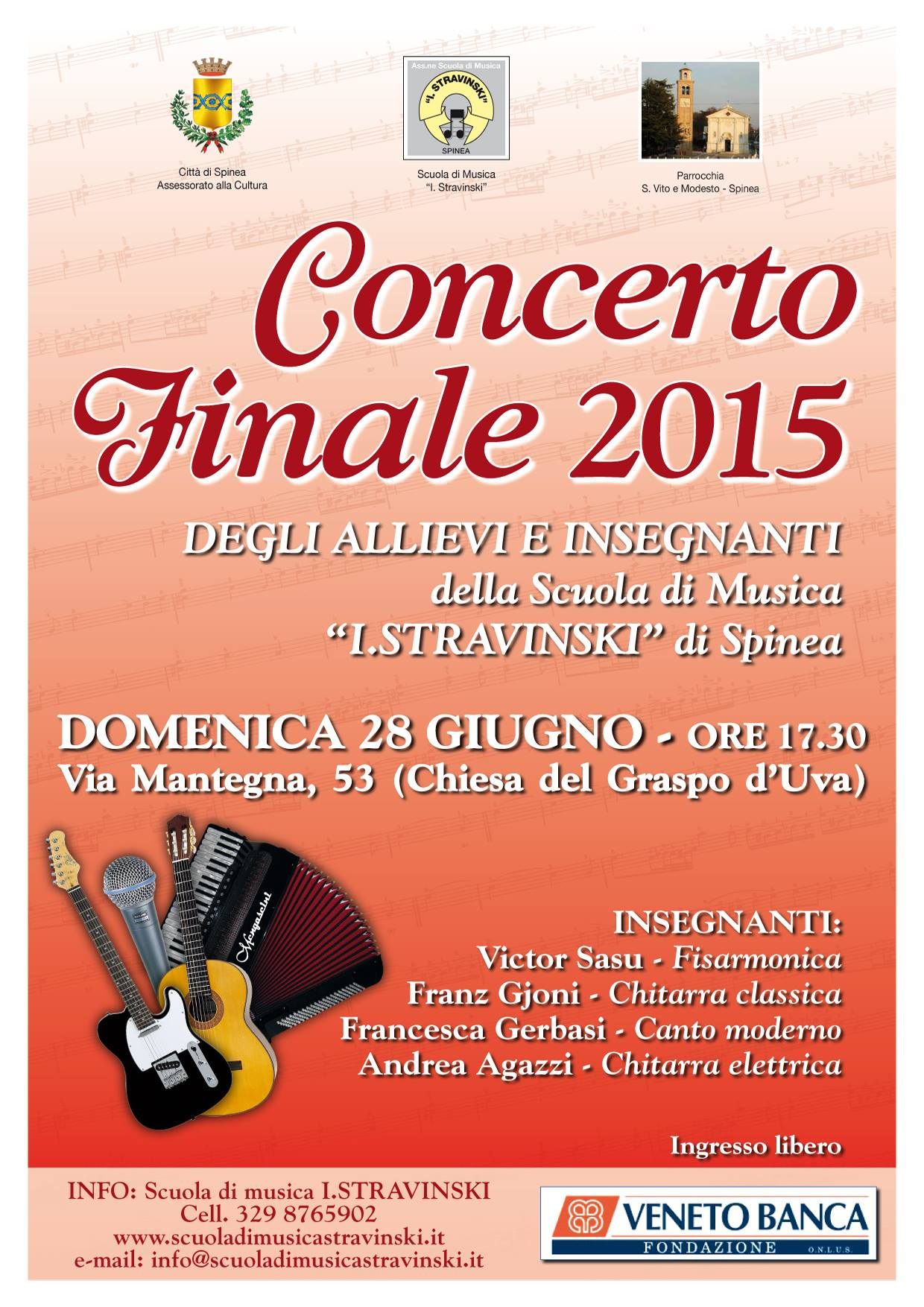 Concerto finale 2015