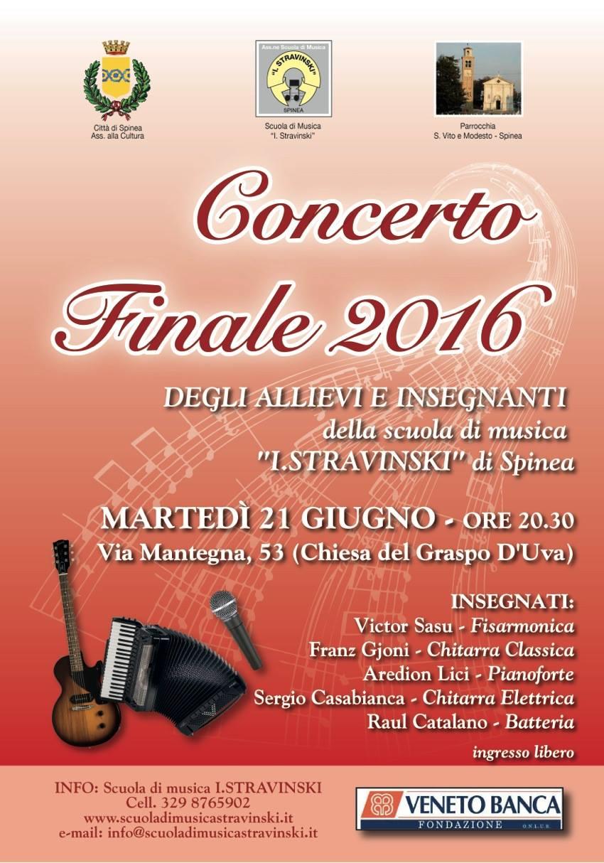 Concerto Finale 2016