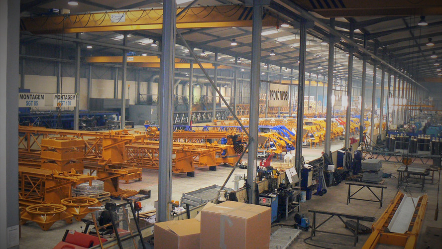 SOIMA Cranes Factory - tower cranes manufacturer