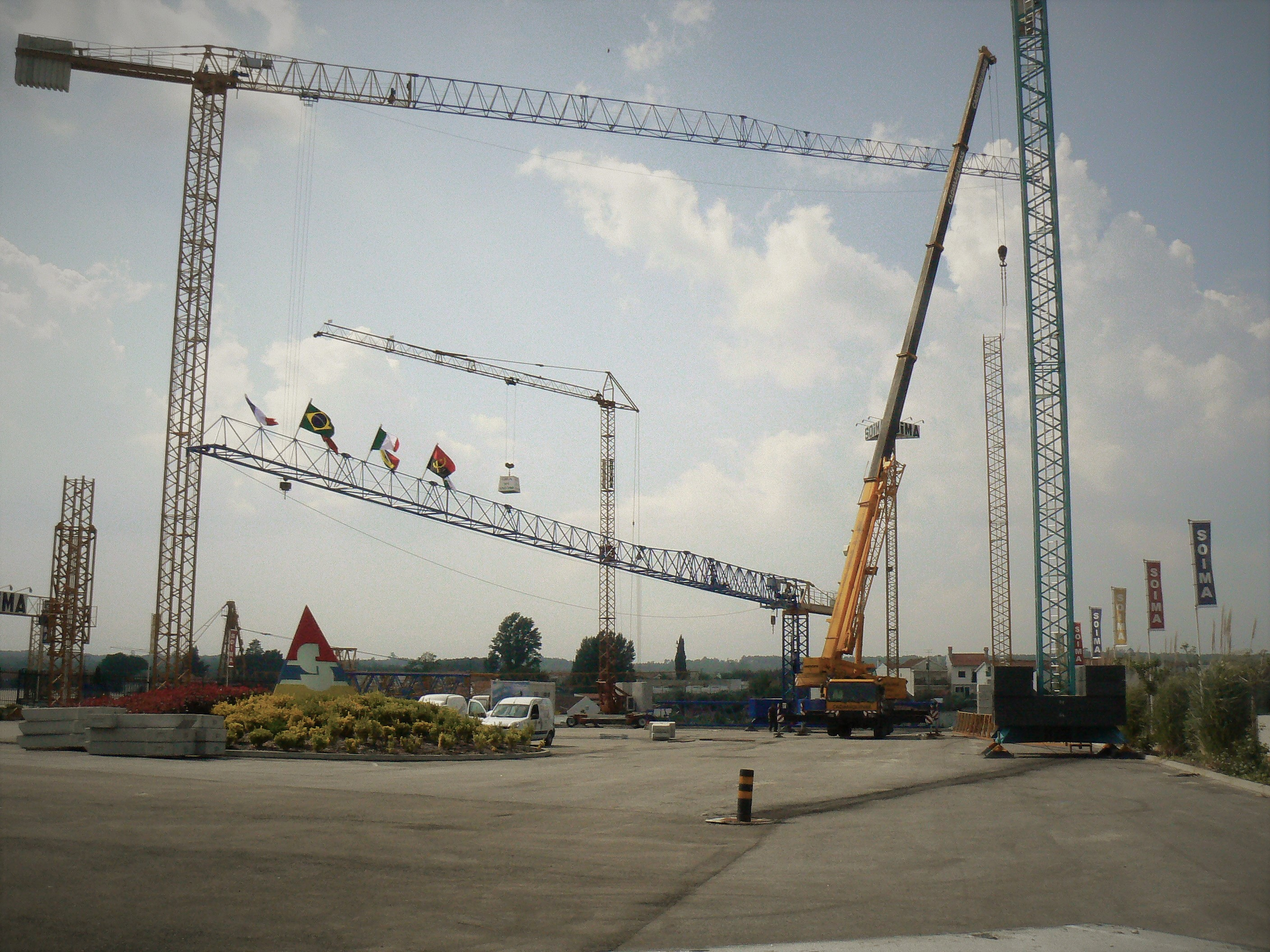Tower Cranes SOIMA | Installations