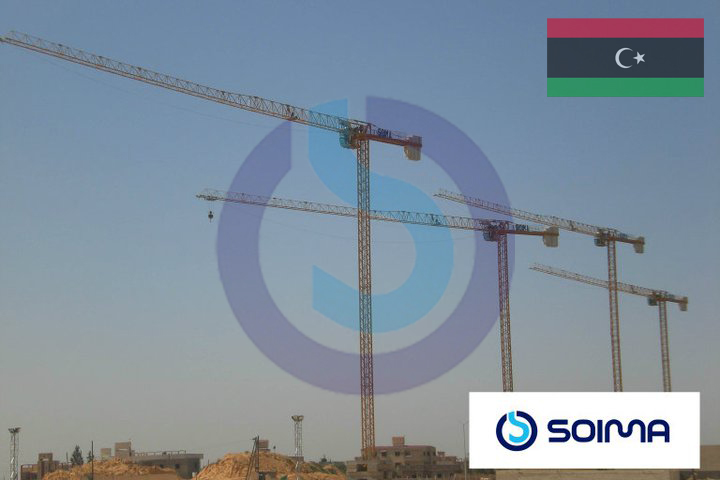 tower cranes SOIMA - Lybia
