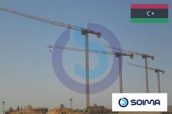 tower cranes SOIMA - Lybia