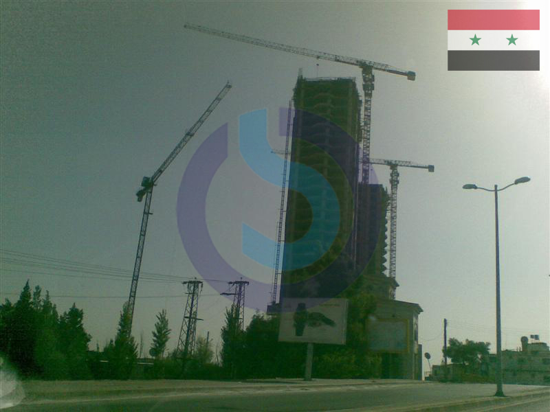 tower cranes SOIMA - Syria