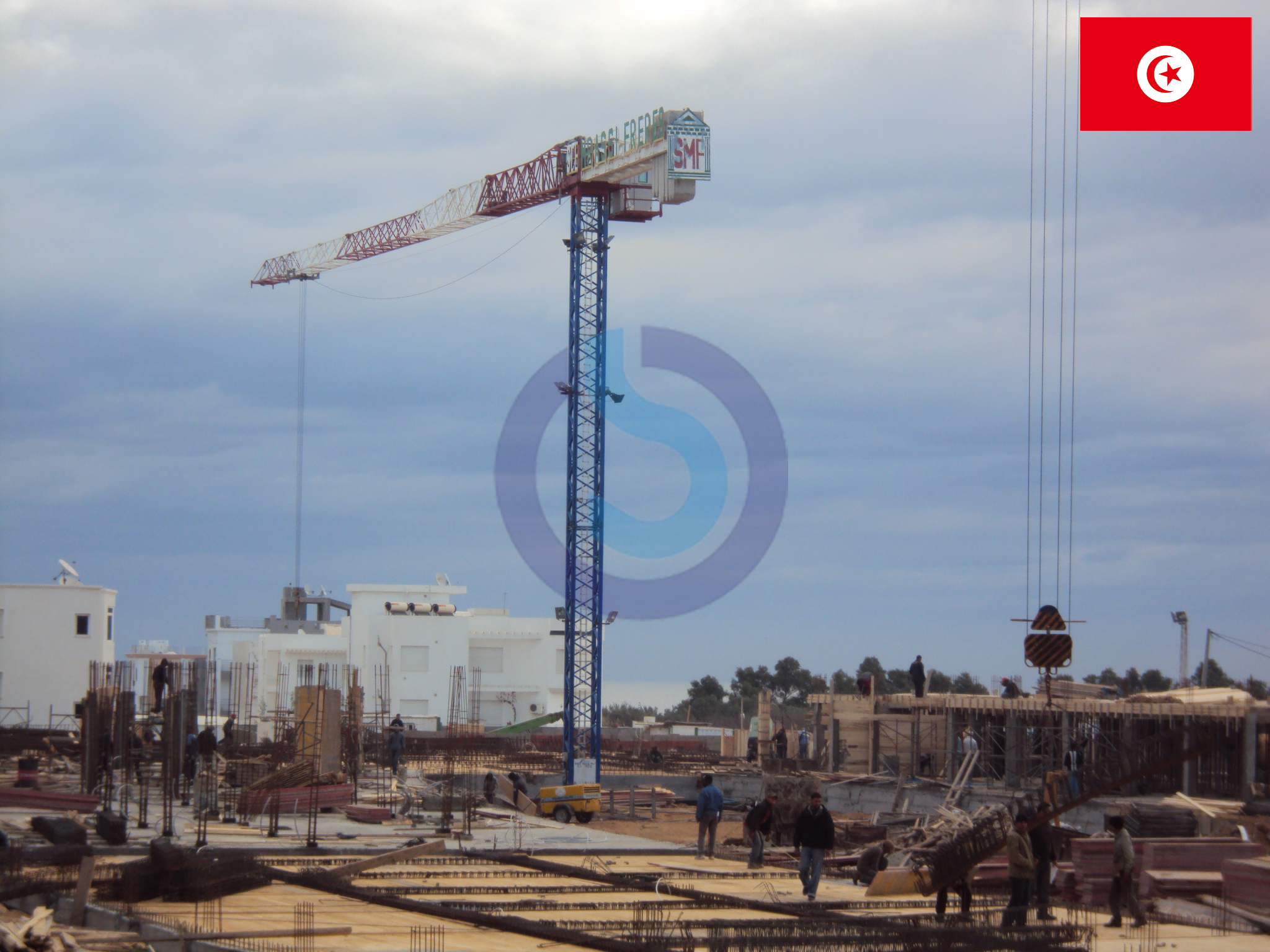 tower cranes SOIMA - tunis
