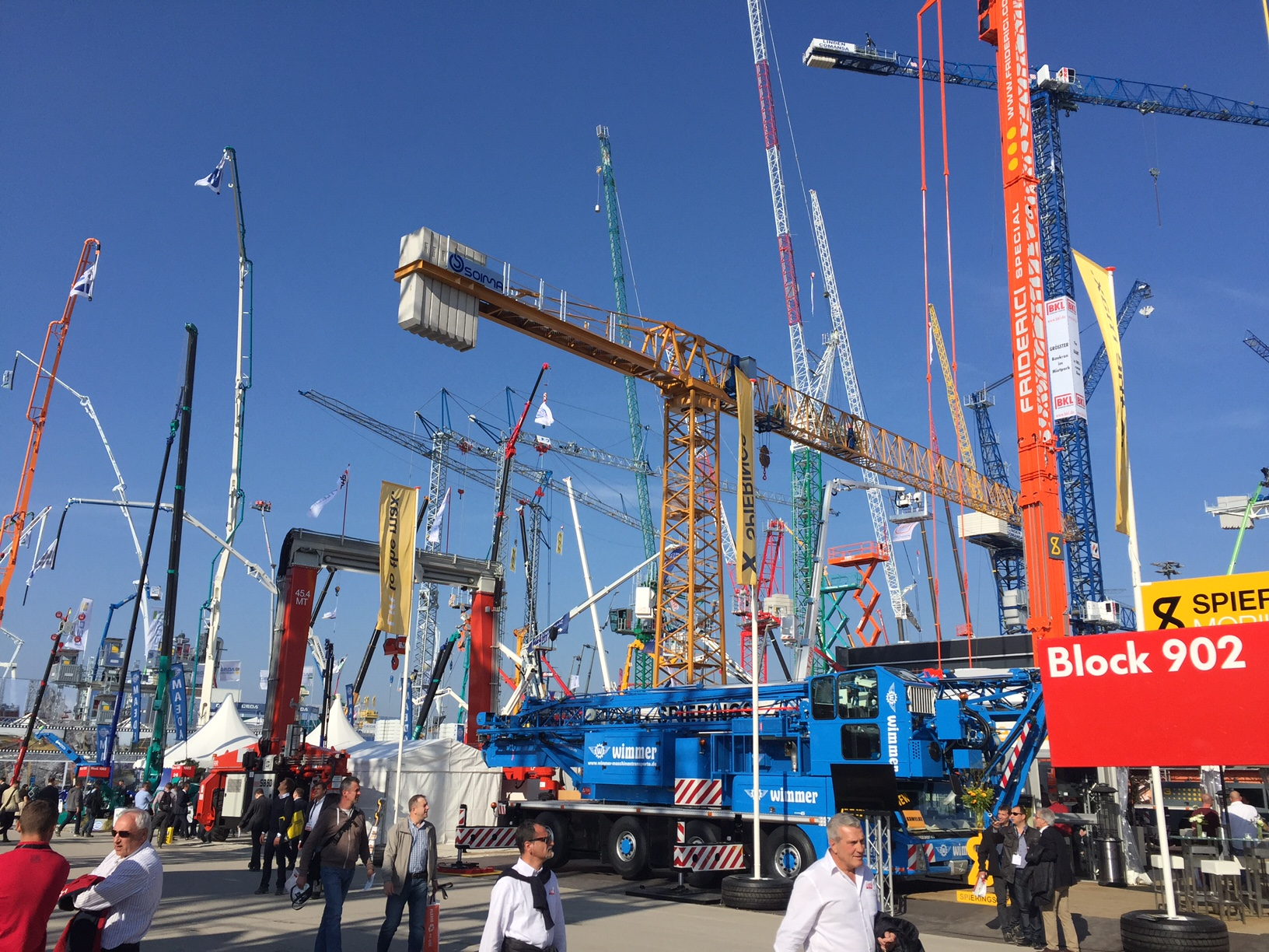 tower crane | soima | Bauma 2016