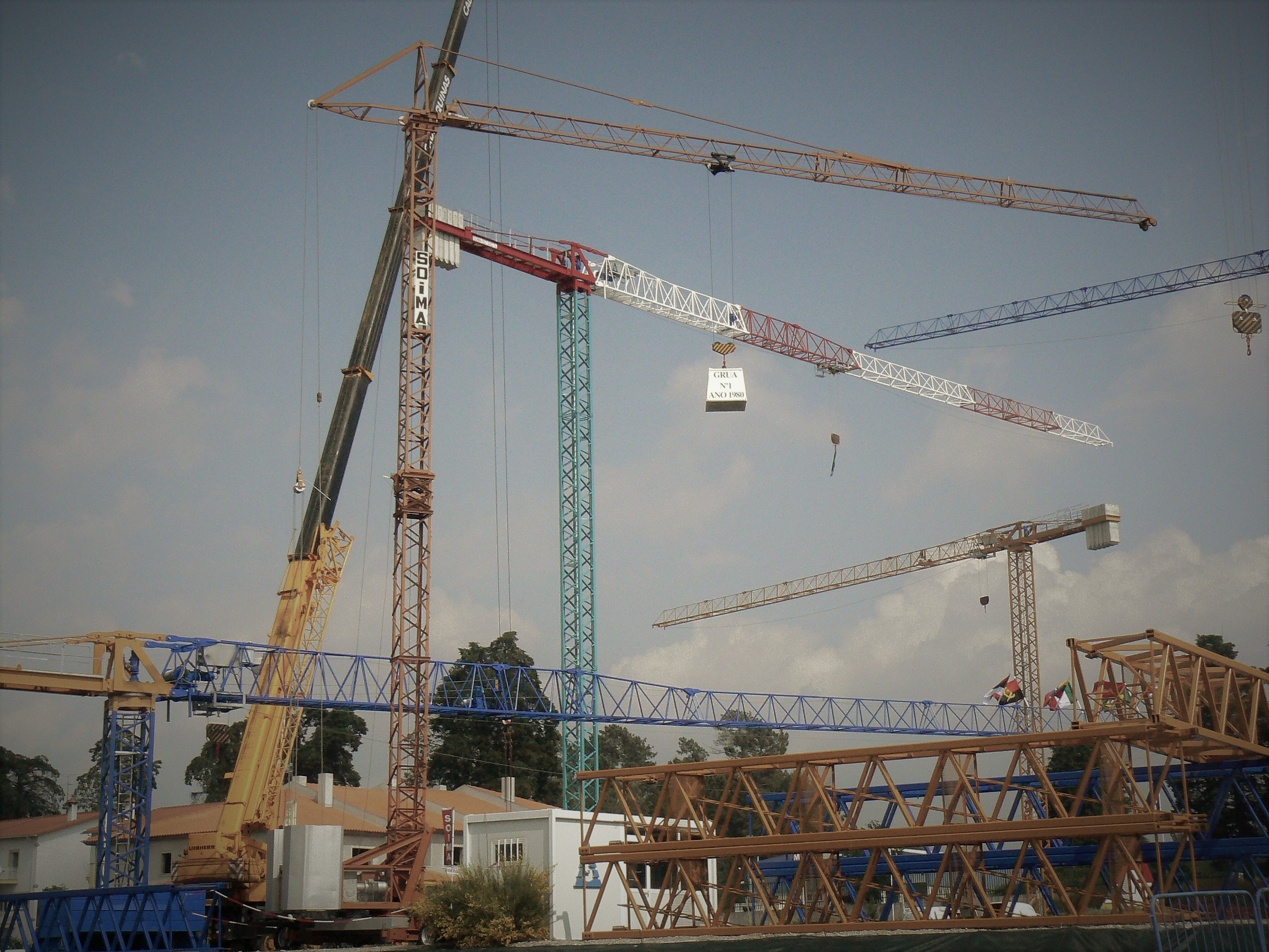 tower cranes - SOIMA 30th Birdthay