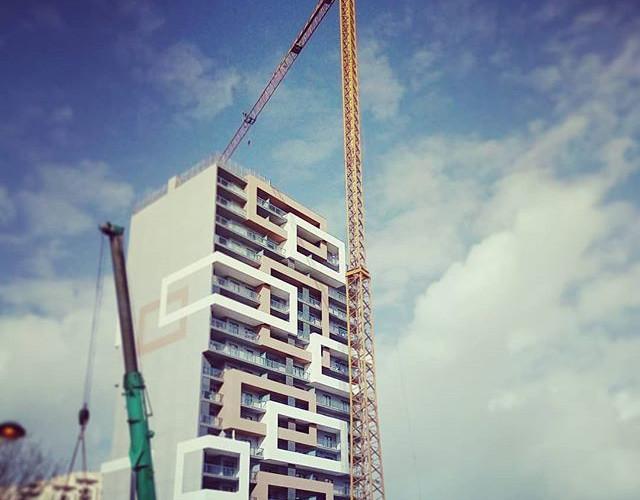 Tower Crane Soima in Portugal