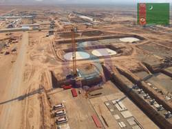 tower cranes SOIMA - Turkmenistan