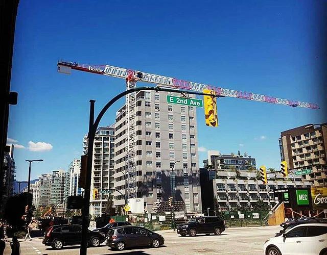 Soima tower crane in Canada