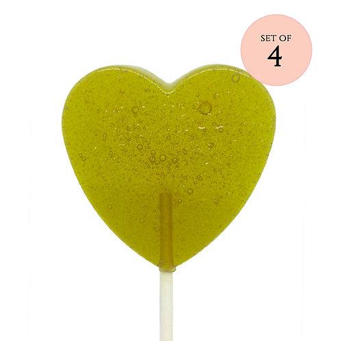 Green Tea Lollipops
