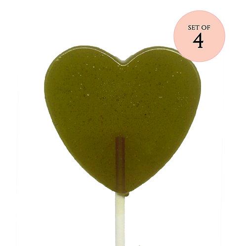 Pistachio Lollipops