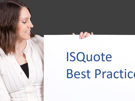 ISQuote Best Practices #1 Job/Mfg Won/Loss Tracking