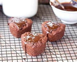 Choc Fudge Muffins