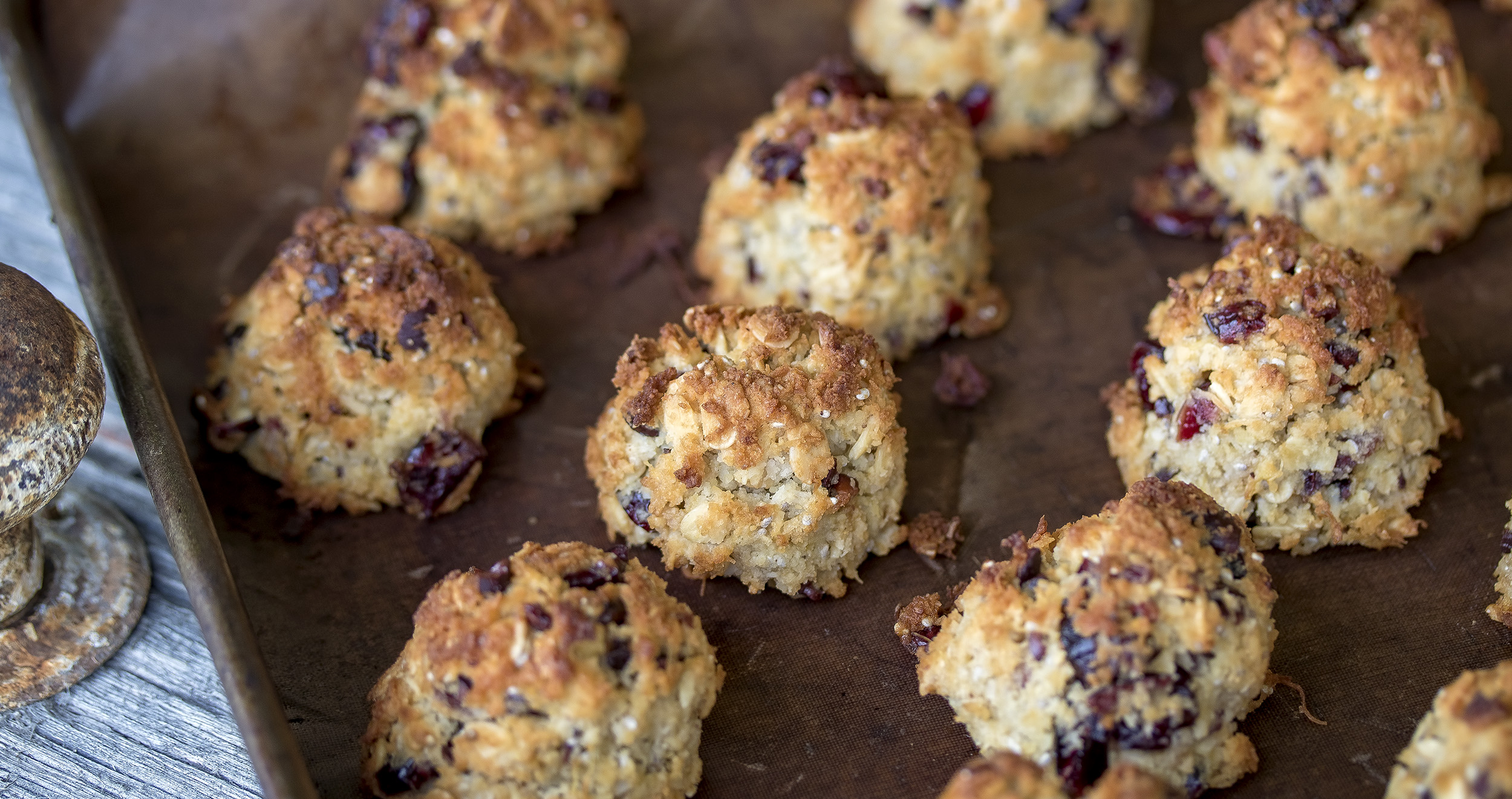 Pine, Cranberry, ChocChip Cookies
