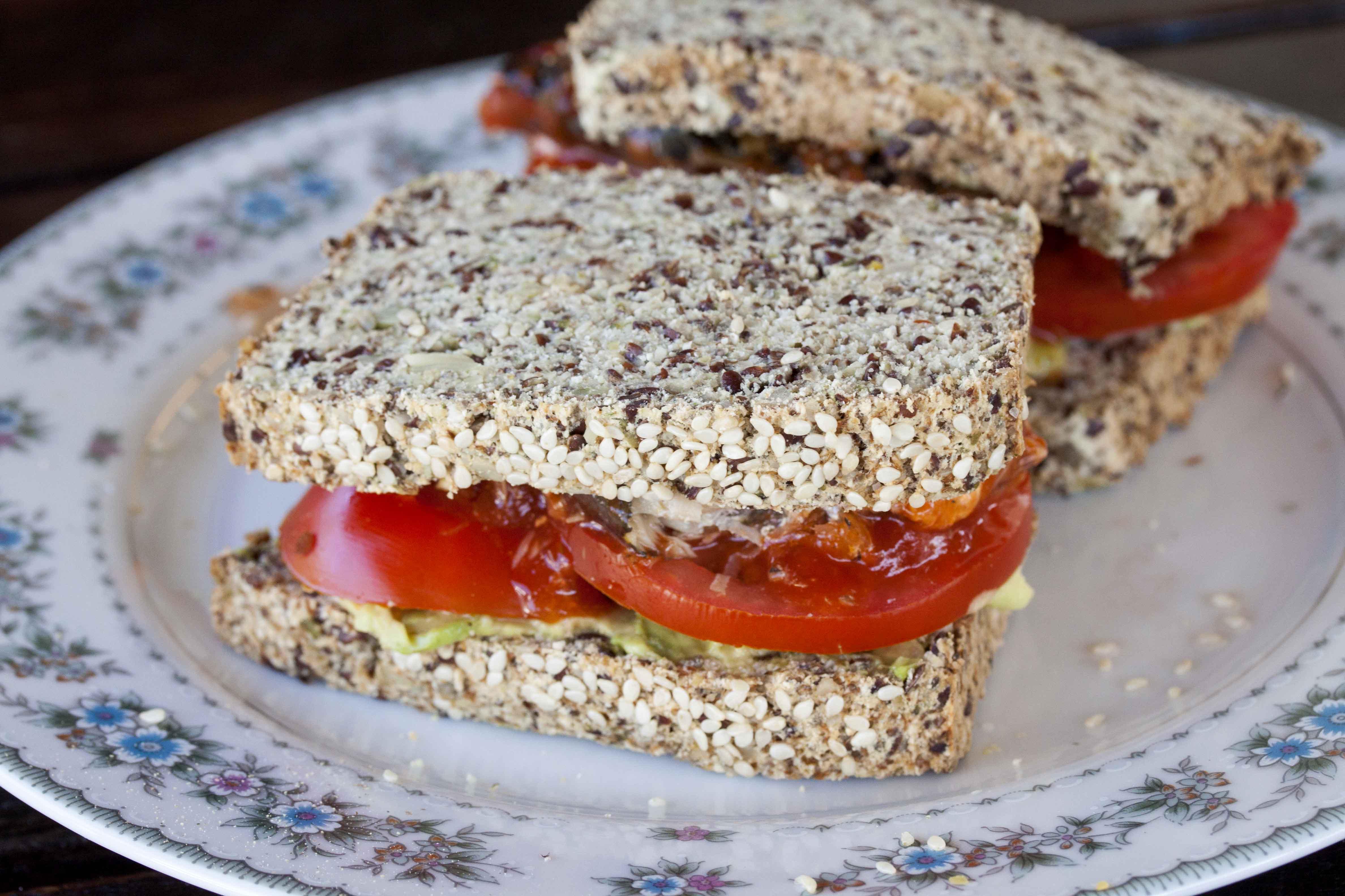 Paleo Bread Sandwich