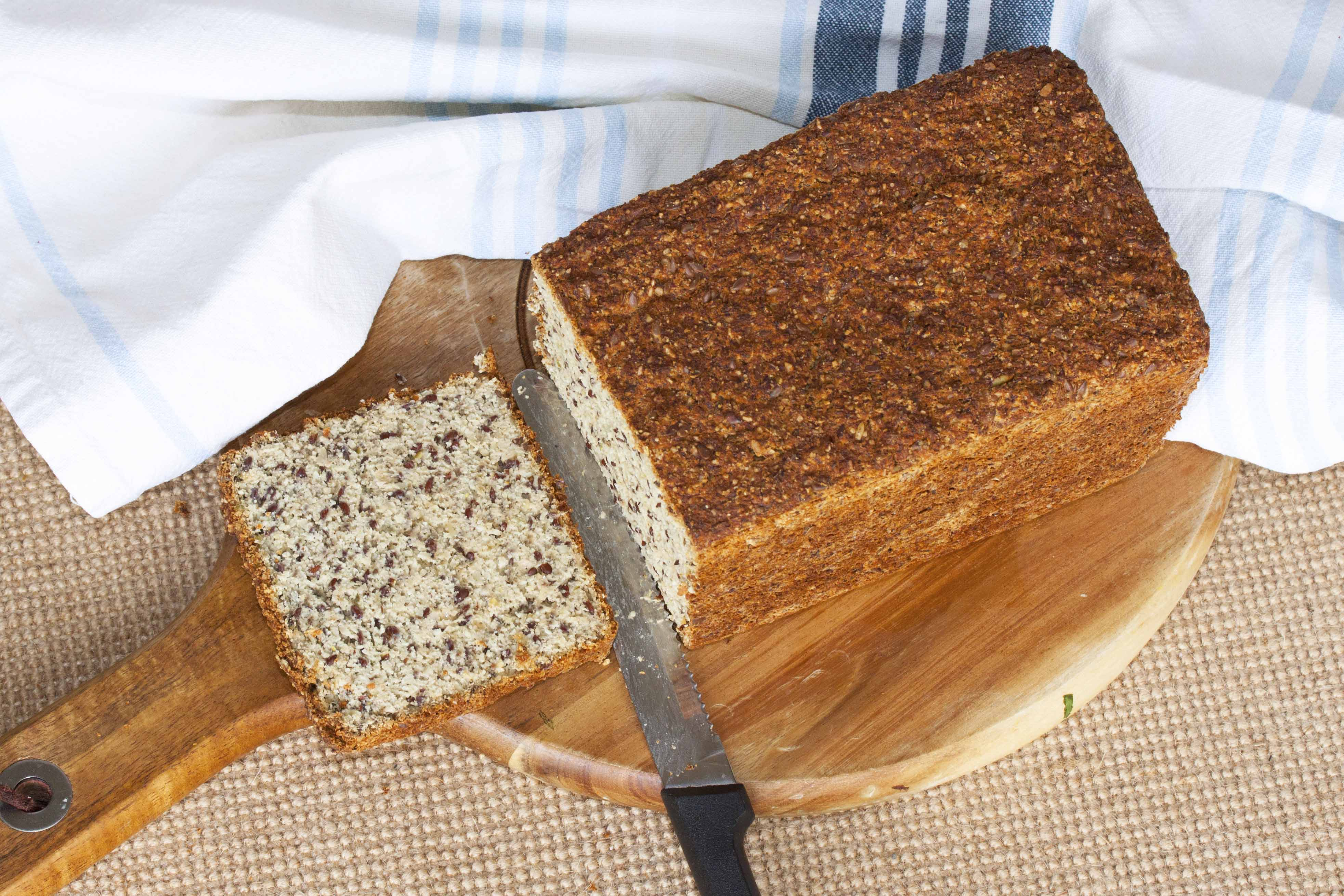 Yeast Paleo Bread - 2