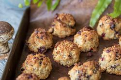 Pine, Cranberry, ChocChip Cookies