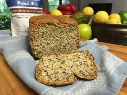 Paleo Bread with farm fresh eggs