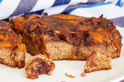 Peach Jam & Coconut Cake