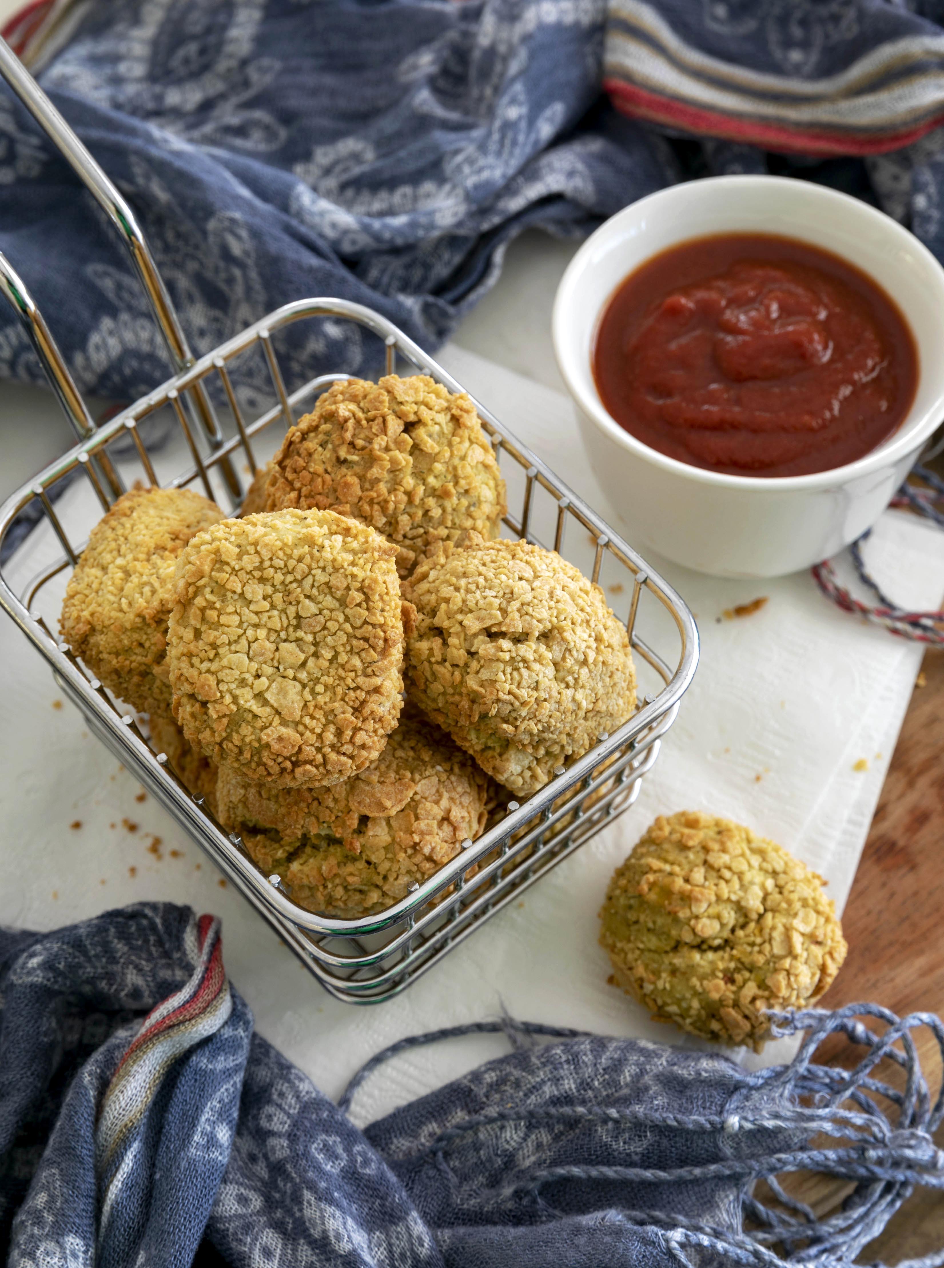 Vegan Chickpea Nuggets