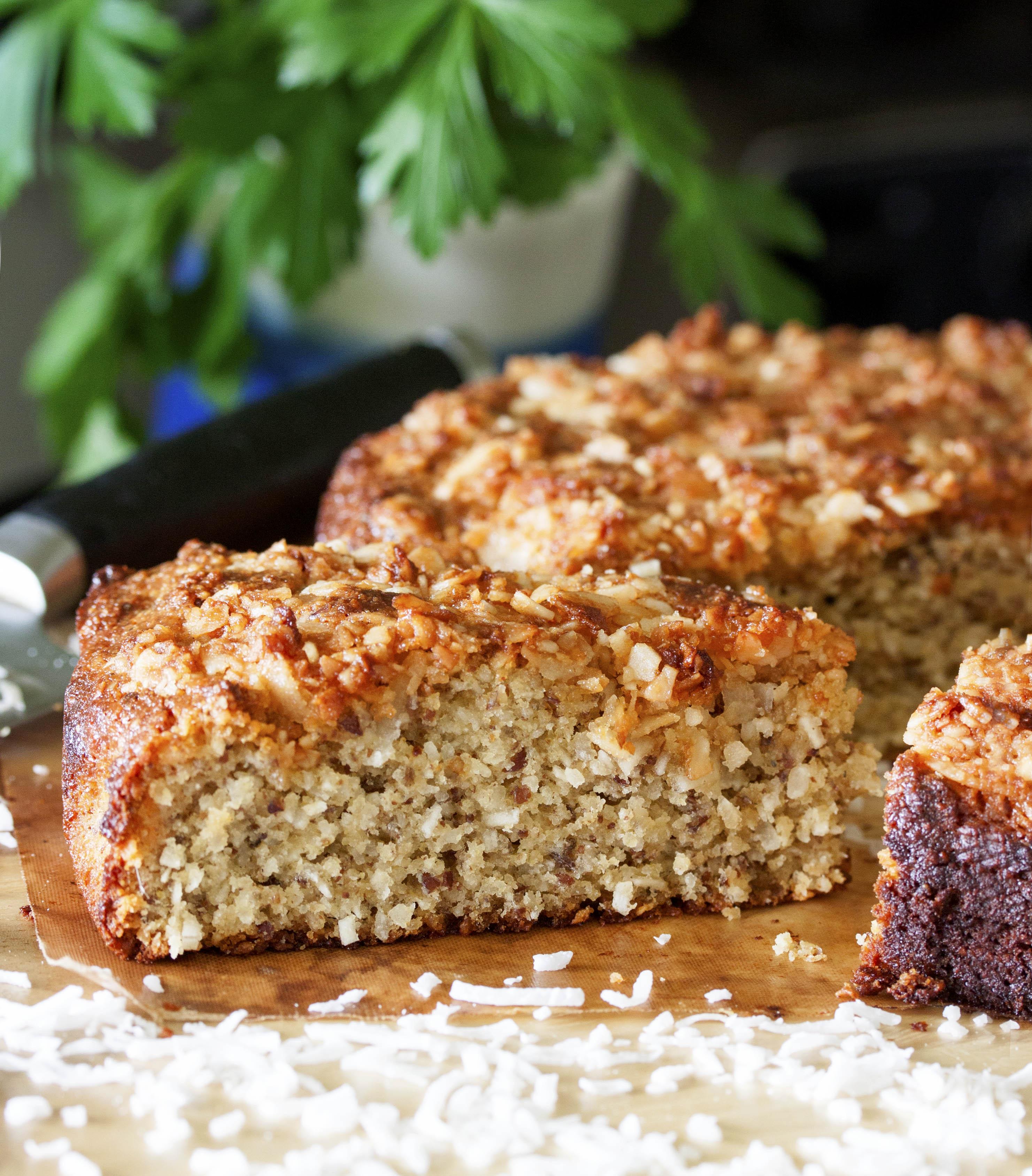 Coconut Crunch Cake