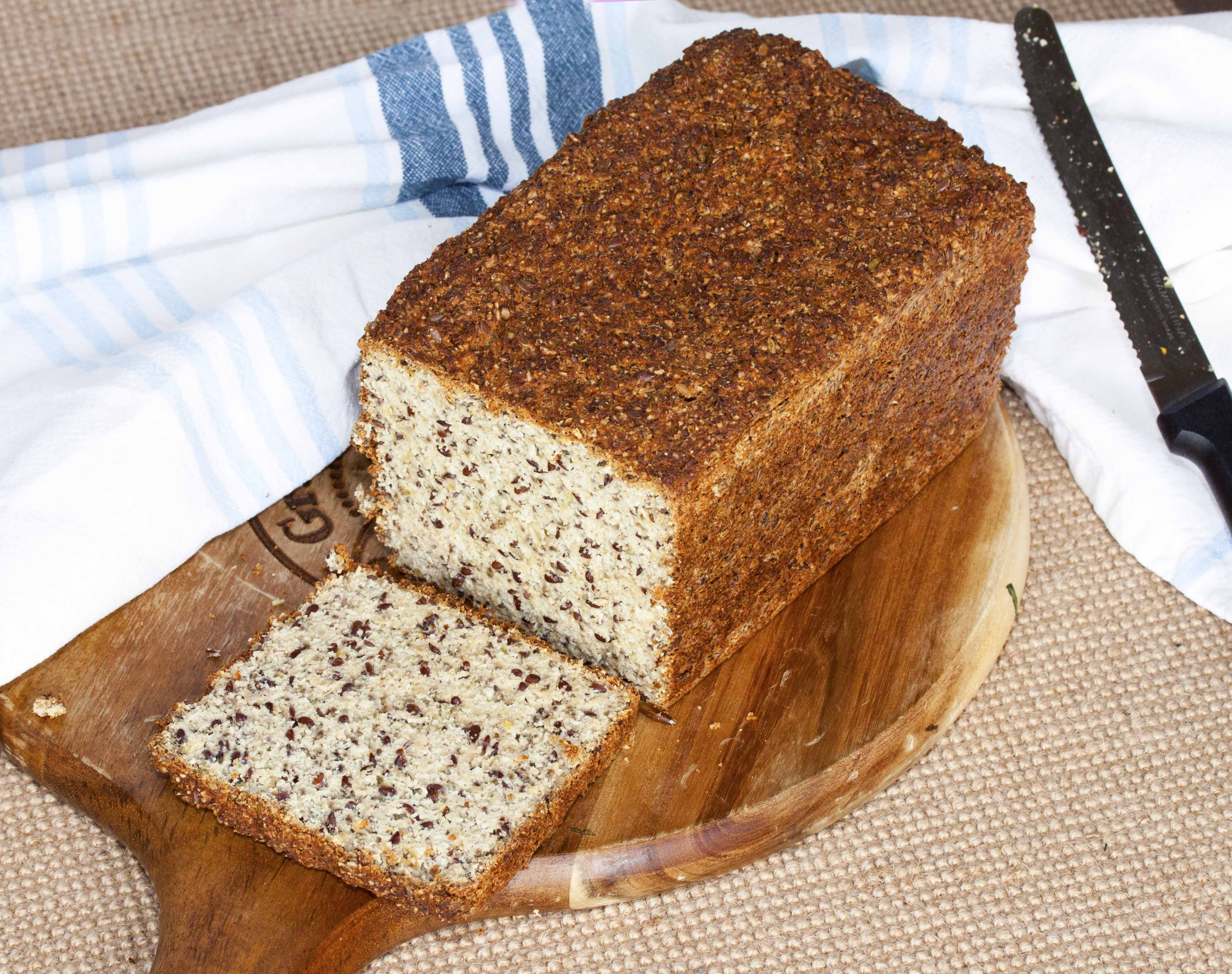 Yeast Paleo Bread - 3