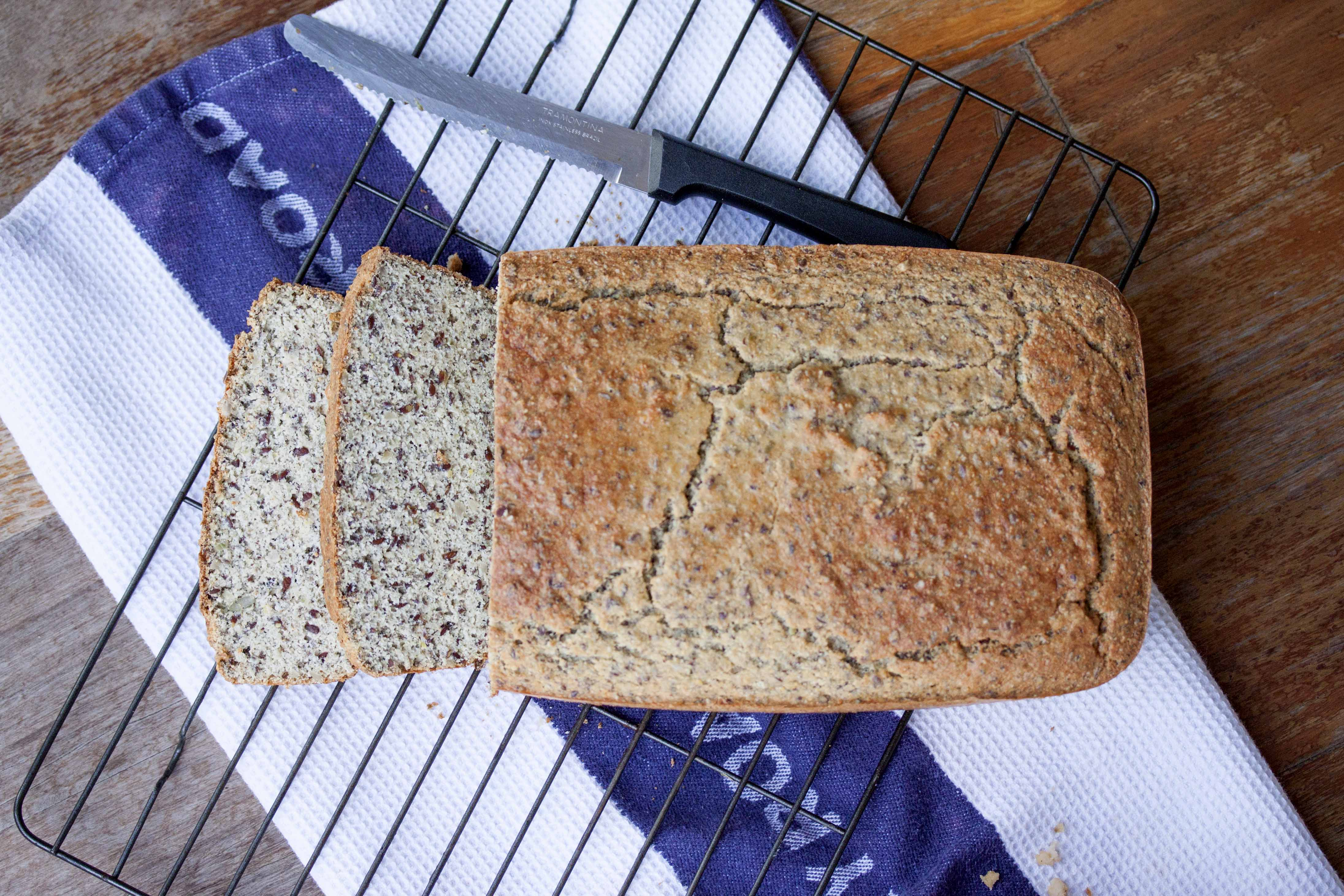 Protein Bread with Whey Protein Powder