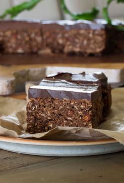 Choc Chip Protein Bars with Chocolat
