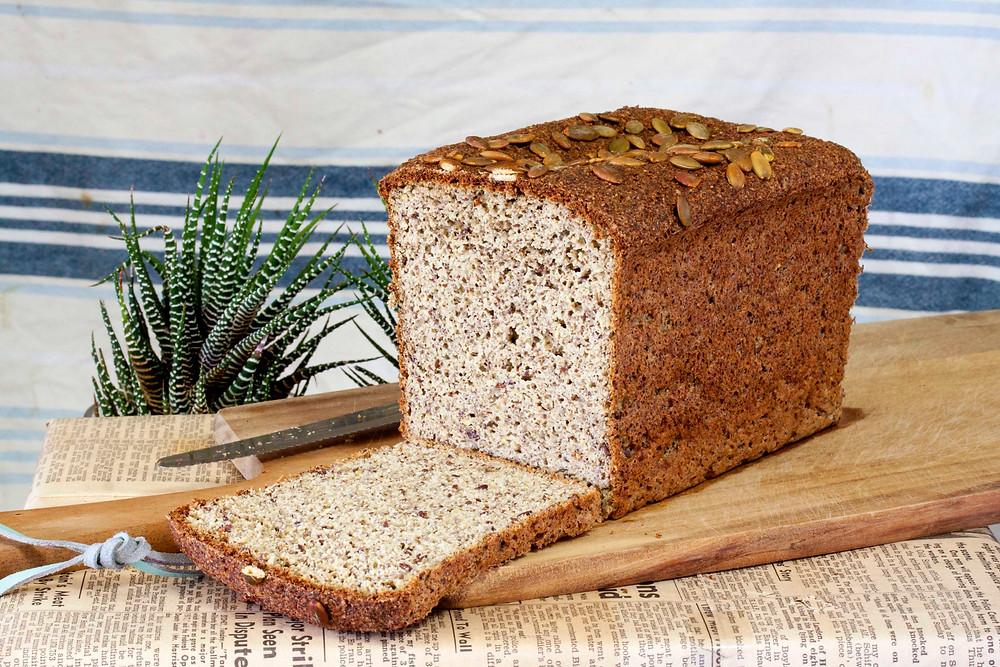 Yeast Risen Paleo Bread - Gluten free & Grain free