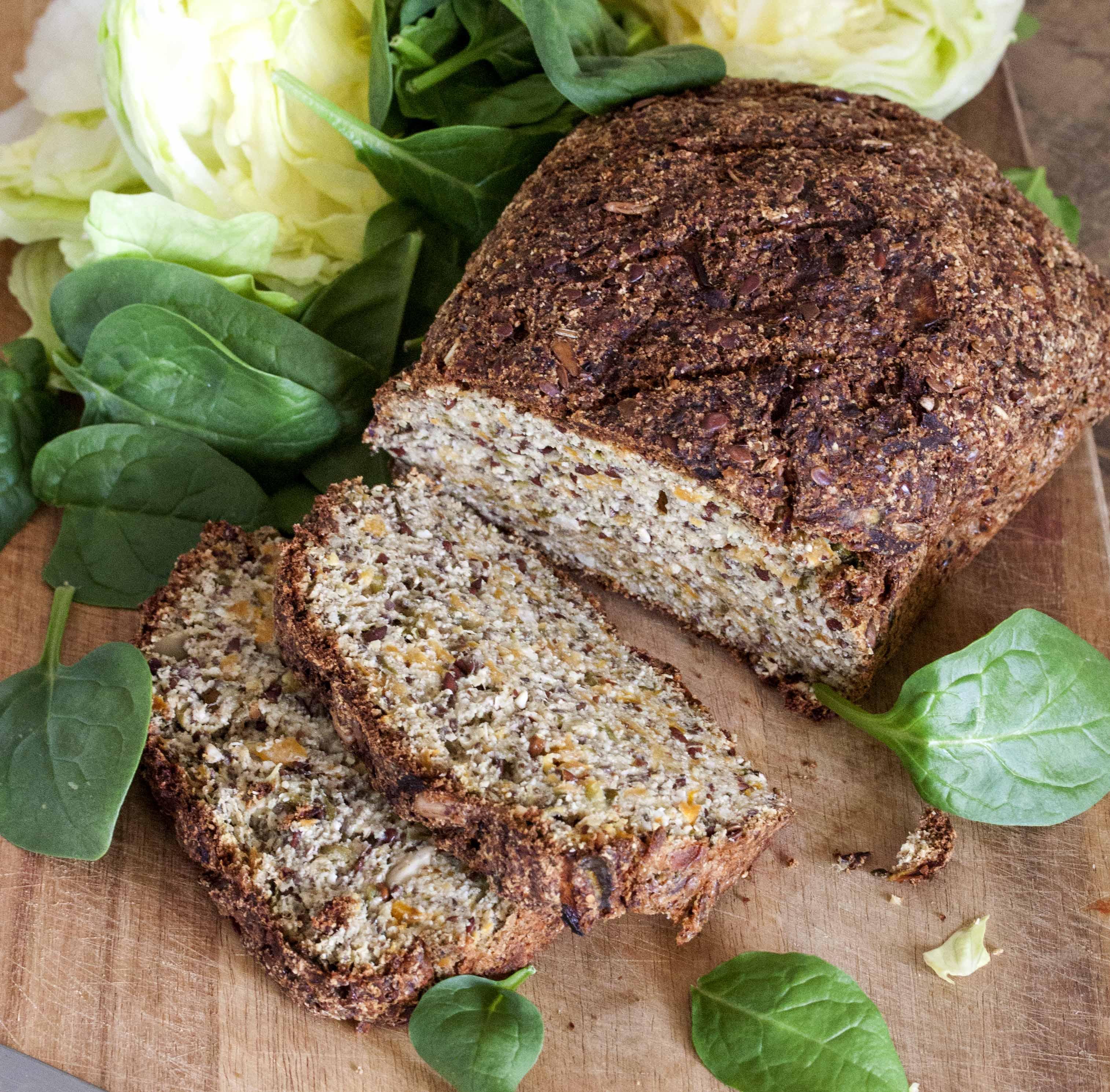 Veggie Sourdough Bread