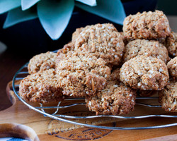 SF Anzac Biscuits