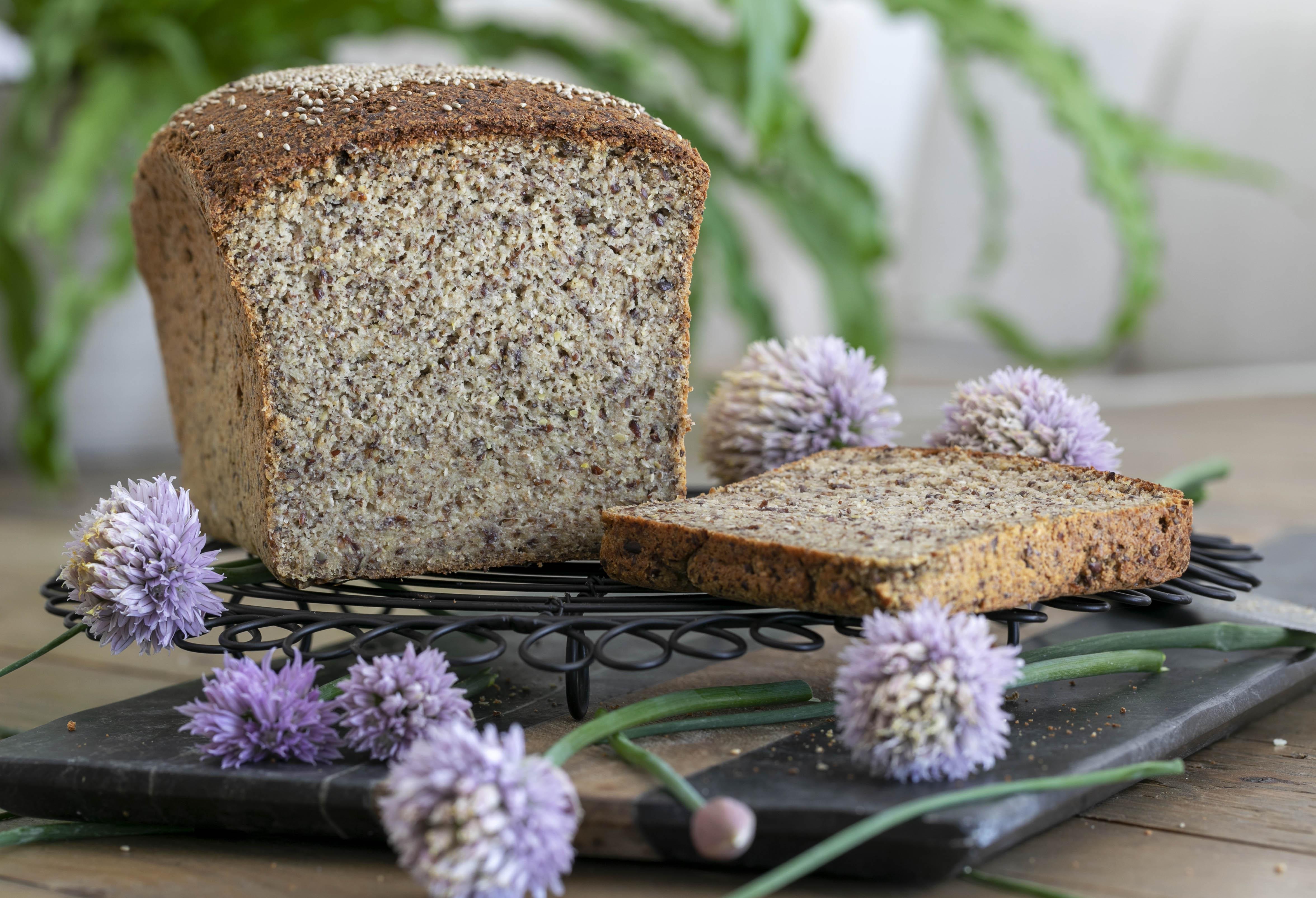 Vegan Grain Free Bread
