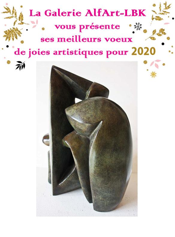 Meilleurs Voeux 2020 Galerie AlfArt-LBK.
