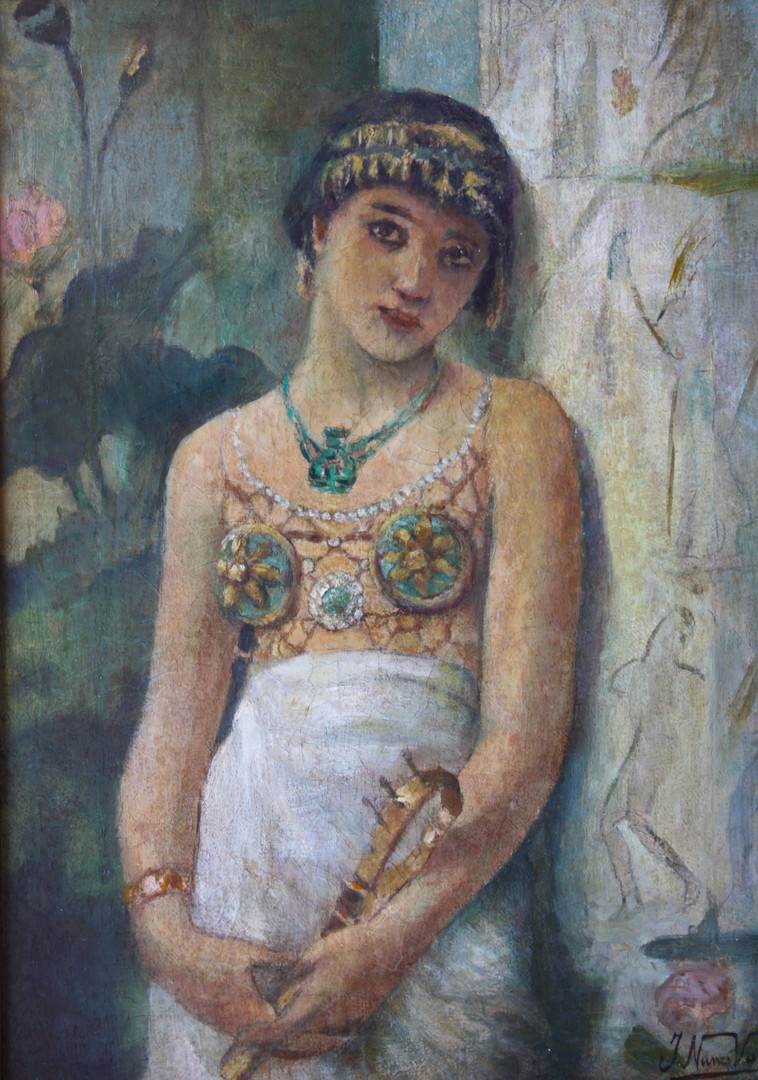Jeune Egyptienne