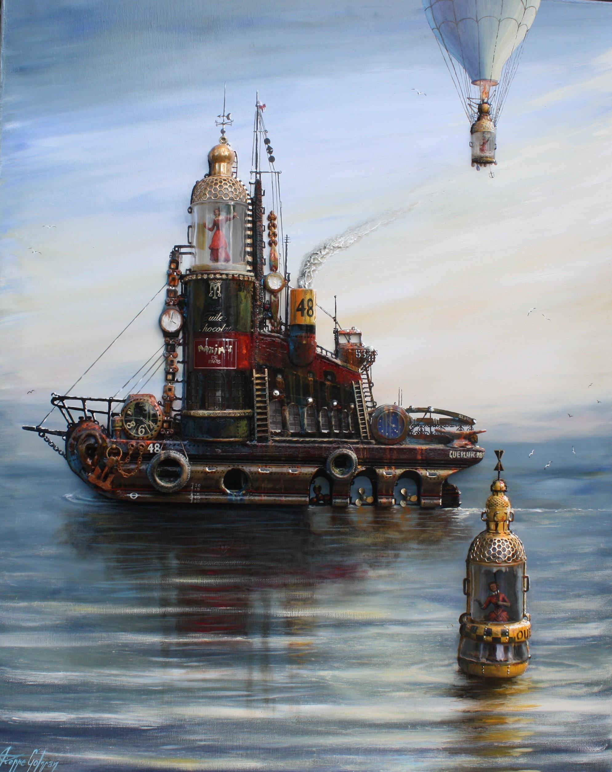 Les trois vies du bateau phare