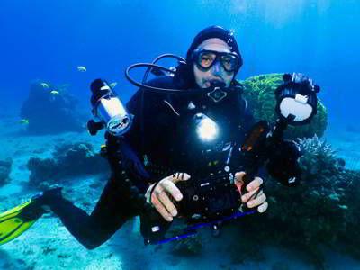 קורס צלילה צילום תת ימי