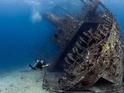 קורס צלילה ספינות טרופות