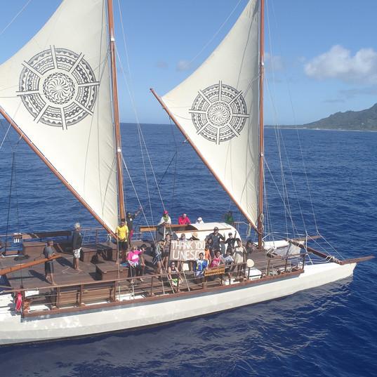 Sailing on Marumaru Atua - Akau Film