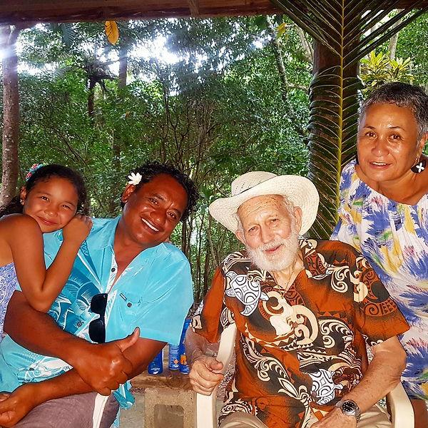 Raetea, Teina, Papa Ed, and Ana