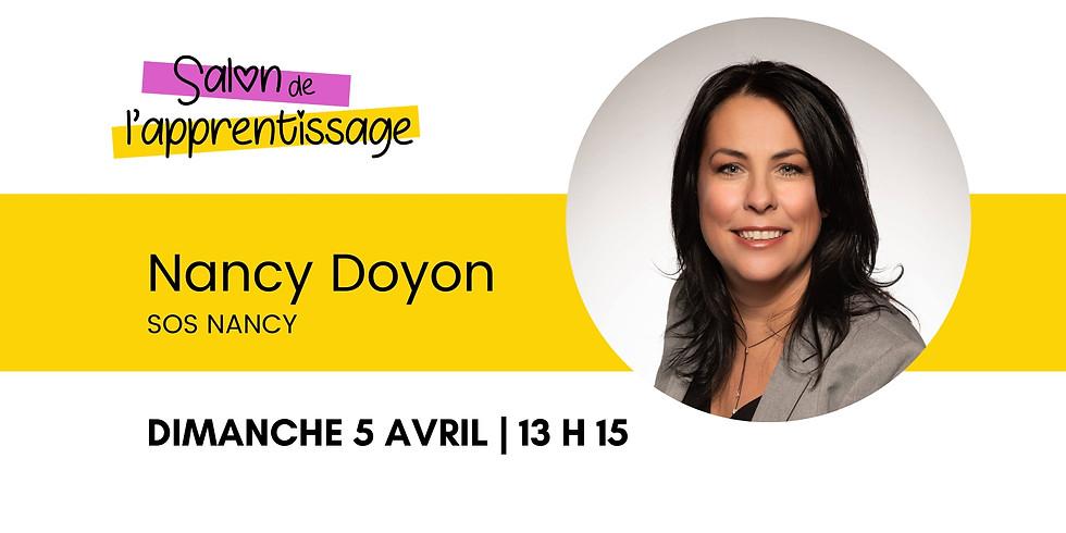 13 h 15 Nancy Doyon Motivation et réussite éducative: inculquer aux enfants le sens de l'effort, le goût de se dépasser