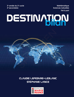 Destination bilan - 4e secondaire - Scie