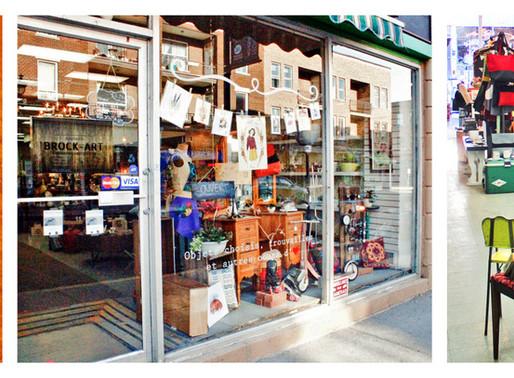 Boutique Brock'Art, la nouvelle boutique hype de la rue Wellington à Verdun